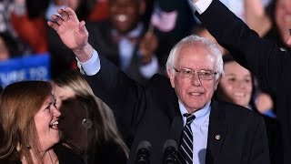 Watch Bernie Sanders Address Supporters After New Hampshire Victory
