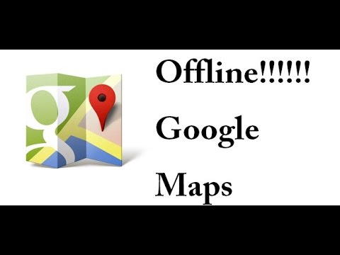 how to make google maps available offline