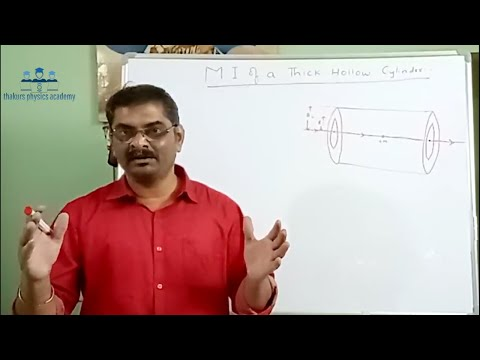 Rotational dynamics Lecture-2 (Applications of Moment of Inertia on various geometrical body)