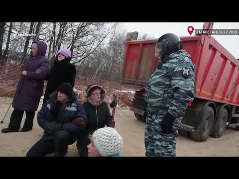 Как в Казани винтят людей. ОМОН против бабушек
