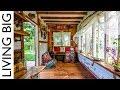 Yoga Teacher's Amazing Furniture-Free Tiny House Designed For Body Movement