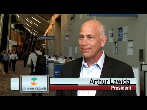 Shoptalk 2017 - Interview with Arthur Lawida, President of commercetools