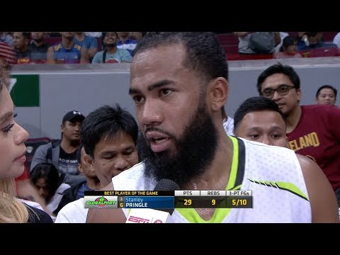 Best Player: Stanley Pringle   PBA Philippine Cup 2018