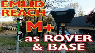 Save money by using Emlid Reach M+ as Rover or Base unit