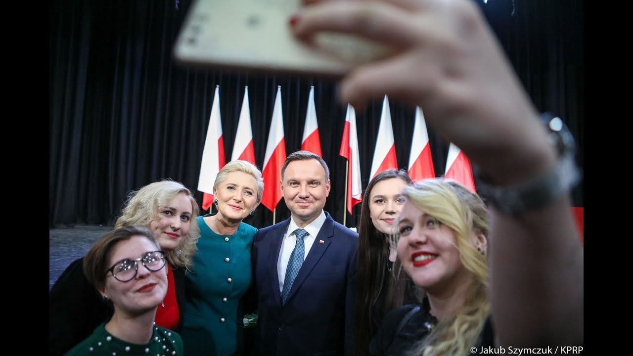 Spotkanie Pary Prezydenckiej z Polakami na Litwie