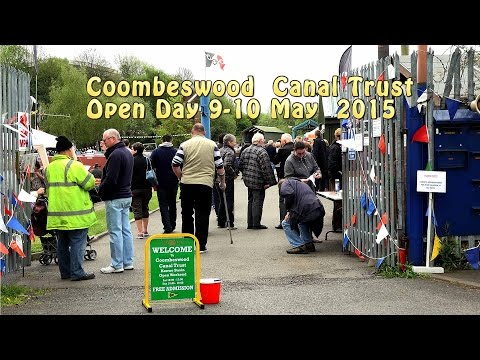 Coombeswood Canal Trust Open Weekend at Hawne Basin - A Dave Holden Video