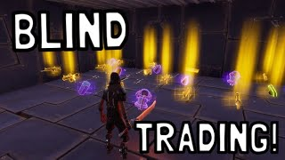 *NEW* BLIND TRADING FOR BEST WEAPONS IN FORTNITE SAVE THE WORLD PVE
