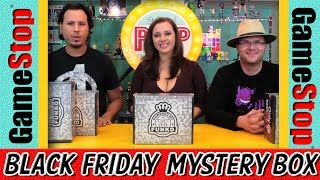 Unboxing Four Gamestop Black Friday Mystery Boxes!!