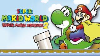 Super Mario World: Super Mario Advance 2 - All Levels Complete - Full Gameplay/Walkthrough (Longplay
