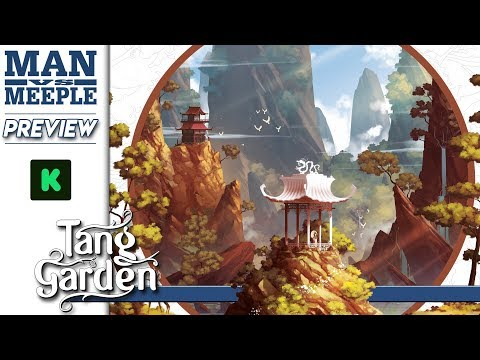 Tang Garden Preview by Man Vs Meeple (Thundergryph Games)