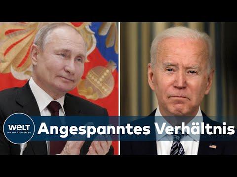 BIDEN vs PUTIN: Verhältnis zwischen USA und Russland 'nah an der Eiszeit'