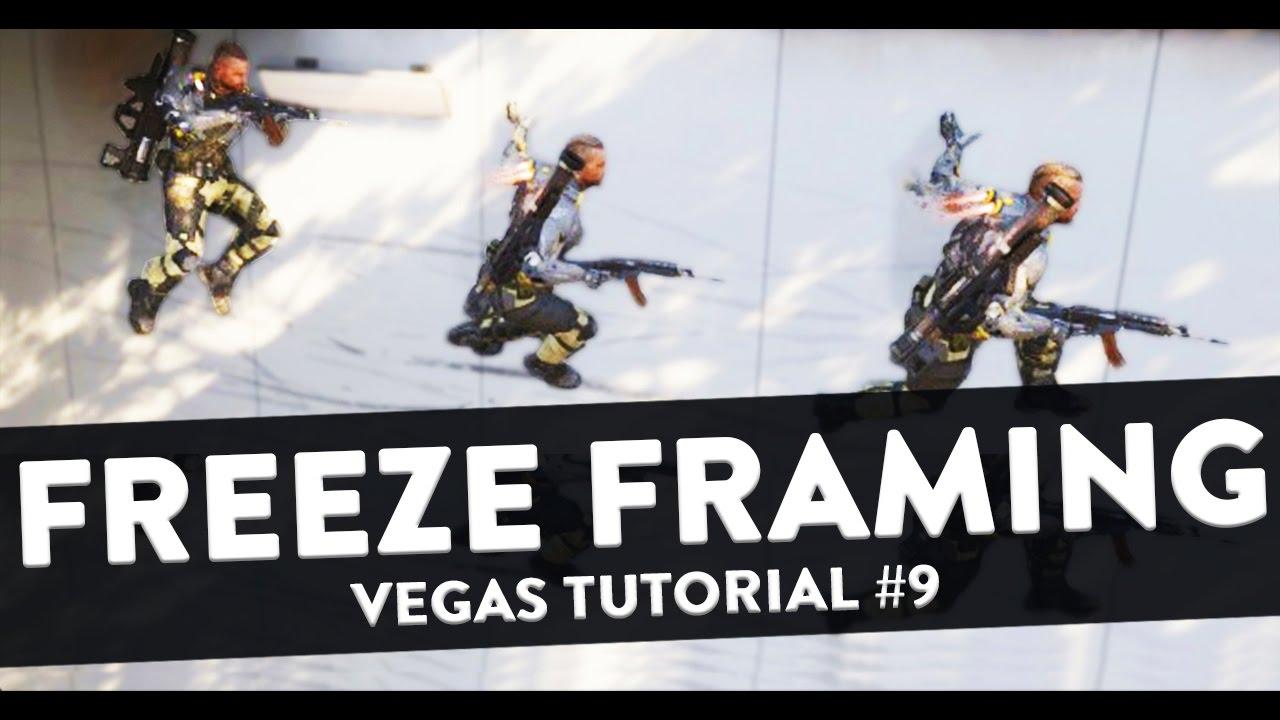 Freeze Frame Effect (Freeze Framing) - Sony Vegas Tutorial #9 - YouTube