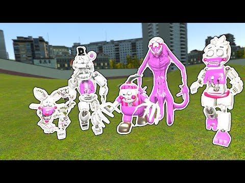 FNAF FUNTIME REAPER ANIMATRONICS!   Garry's Mod Gameplay   Gmod FNAF Sandbox thumbnail