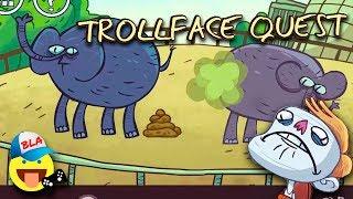 ТРОЛЛИМ УНИТАЗ Приключения троля Мультик-игра TROLLFACE QUEST Смешное видео для детей KIDS CHILDREN