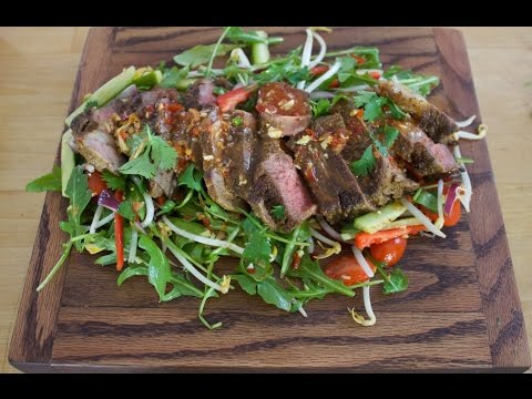 How to make a Thai Beef Salad