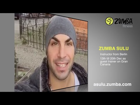 Zumba Sulu | Dec 2014: guest trainer on Gran Canaria