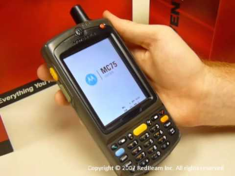 Cold Boot Instructions For Motorola Mc55 Mc70 Mc75 Youtube
