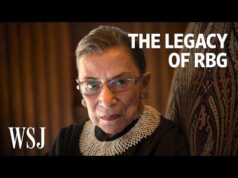 Ruth Bader Ginsburg, Supreme Court Trailblazer, Dies at 87   WSJ