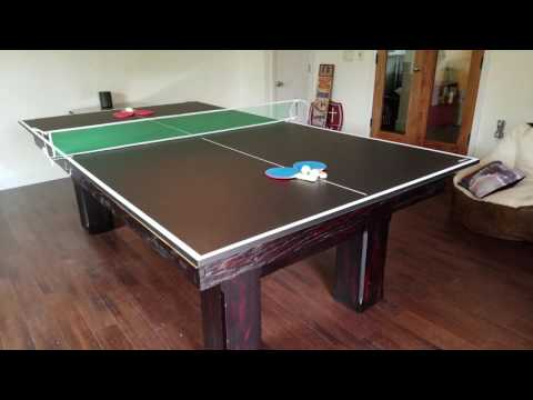 Ping Pong Conversion Top For Pool Tables Youtube