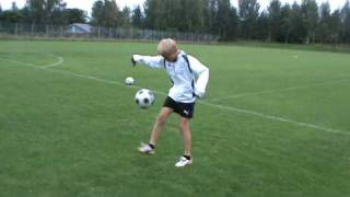 12 years old footballer from Finland