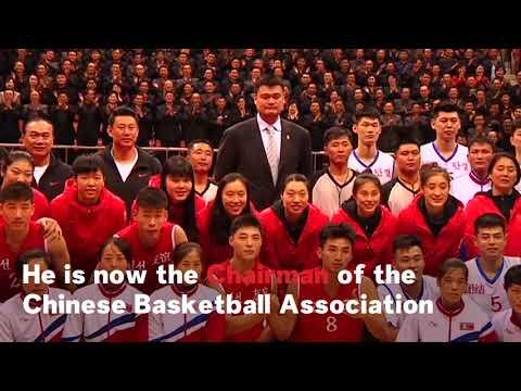 North Korea And China Hold Friendly Basketball Game In Pyongyang