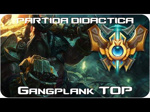 GANGPLANK TOP - Didáctica - El TOP/MID Más ROTO