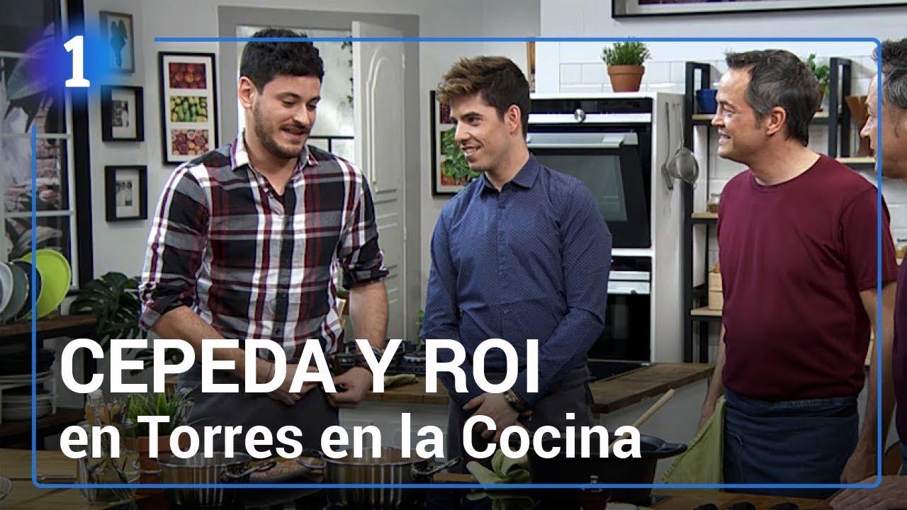 Los mejores momentos de cepeda y roi entre fogones for Torres en la cocina youtube