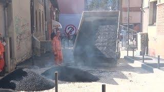 TV 5  - Asfaltiranje Žičke ulice u Užicu