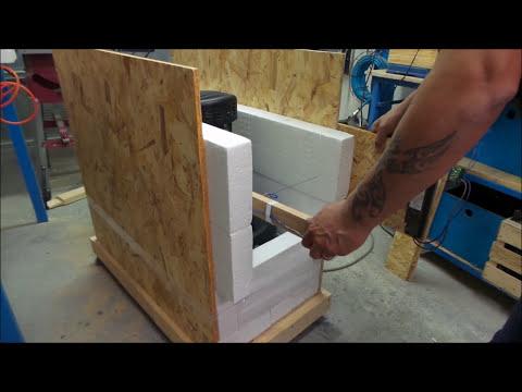 🔨Insonorizzare un compressore Taglia polistirolo fai da te Soundproof a DIY polystyrene cutter