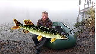 Рыбалка на ЩУКУ Сломали спиннинг Sony HDR AS300