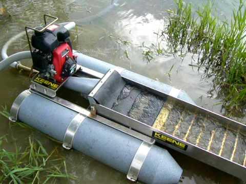 Keene 2 inch back-pack dredge ( FREE SHIPPING ! )