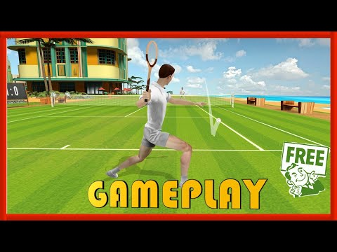 WORLD OF TENNIS ROARING 20s- GAMEPLAY / REVIEW - FREE STEAM GAME 🤑