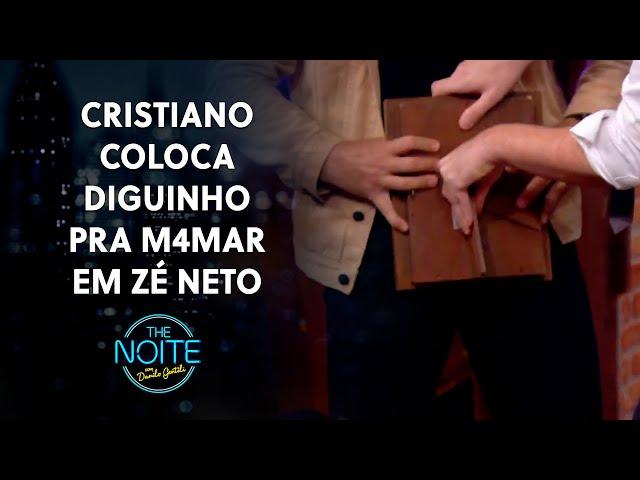 Diguinho caiu de boca no p1nt@ do cantor sertanejo Zé Neto | The Noite (21/10/21)
