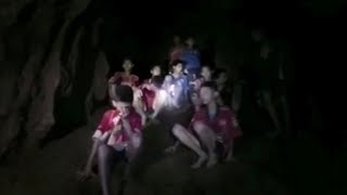 Rescue efforts underway for Thai youth soccer team trapped in cave