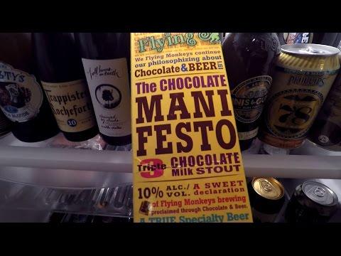 Vlog | MEET KRYSTA! | Flying Monkeys Manifesto Triple Chocolate Stout [Daily Drink #382]
