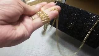 Bolsa carteira clutch glitter com alça festa #Loja Mais Vitória