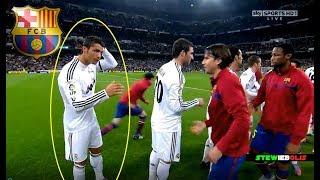 "Cristiano Ronaldo ⚽ First ""El Clasico"" at Santiago Bernabeu ⚽ HD 1080i #CristianoRonaldo #ElClasico"