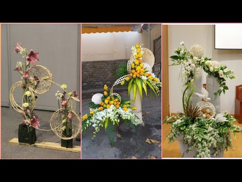 beautiful and unique a flower decoration ideas