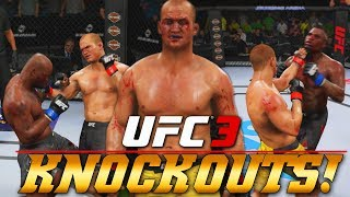 Junior Dos Santos Is LETHAL! Uppercuts Means K.O.! EA Sports UFC 3 Online Gameplay