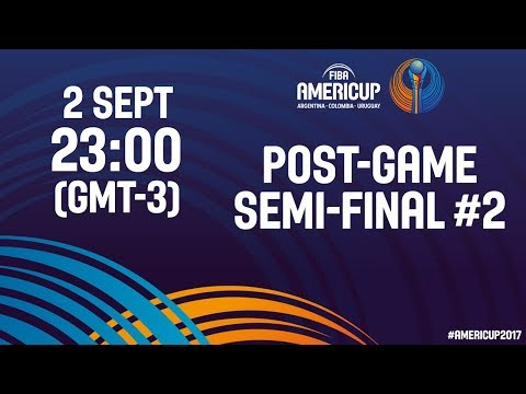 #JornadaAmeriCup - Post Semifinal #2