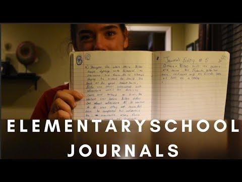 READING ELEMENTARY SCHOOL JOURNALS