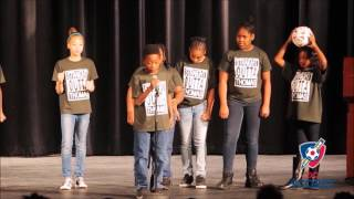 Thomas Elementary School performs at 2016 Poetry Slam!