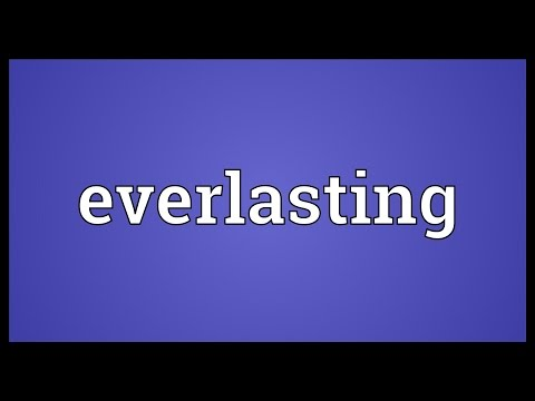 Everlasting Meaning