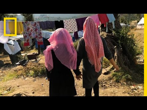 Reshaping the Trauma of Refugee Children in Lesbos | National Geographic