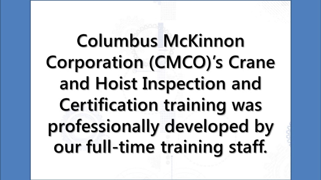 Crane inspection checklist cmco certified inspectors american crane inspection checklist cmco certified inspectors american crane 1betcityfo Image collections