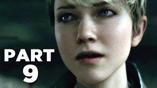 DETROIT BECOME HUMAN Walkthrough Gameplay Part 9 - ESCAPE (PS4 Pro)
