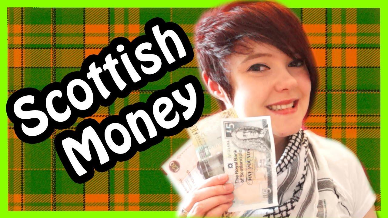 Scottish British Money Currency