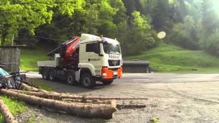 FOSELEV Grue EFFER 135 tonnes/mètre sur porteur MAN 8x6