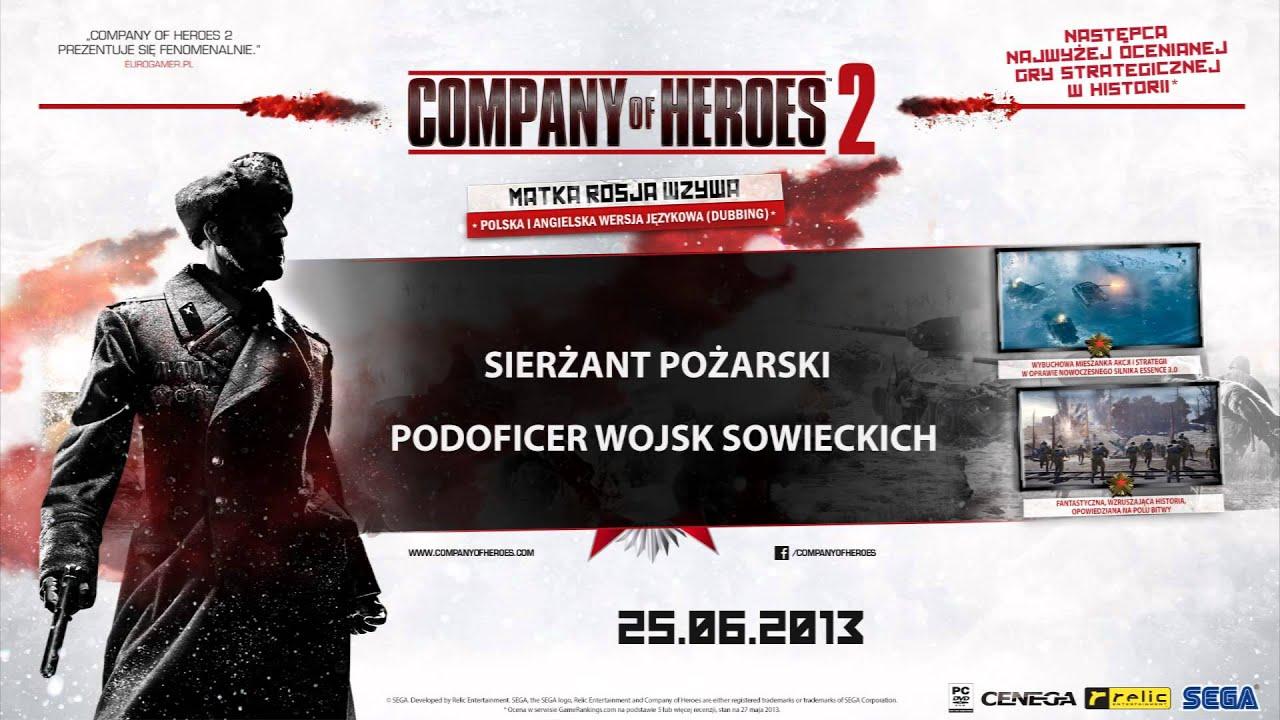 Company of Heroes 2 - Sierżant Pożarski