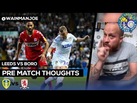 Boro V Leeds | PADDY WILL BE CHOMPING AT THE BIT
